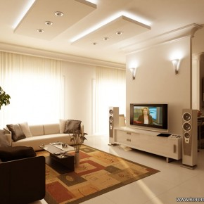9 Gorgeous Living By Keremcobandotcom  10 Rooms That Are Designed Around Televisions  Pict  1