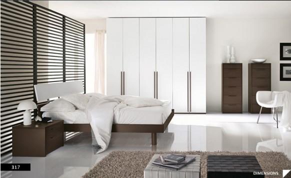 marvellous beautiful white bedroom designs | Bright Beautiful Modern Style Bedroom Designs White Wall ...