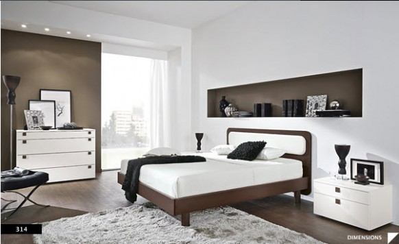 The Best Bright Beautiful Modern Style Bedroom Designs