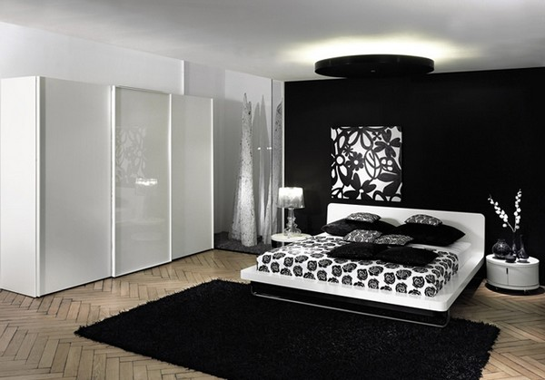Chic Black And White Bedrooms Theme Decor Ideas Interior Design Rh Gecut Com