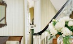 Design Interior French Country Wooden Stair White Corner Door