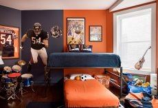 20 Rooms Inspired By Football