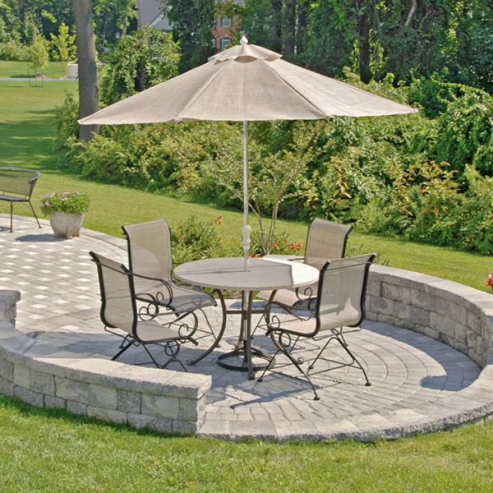 House Patio Designs With Chair And Table Home Backyard Backyard