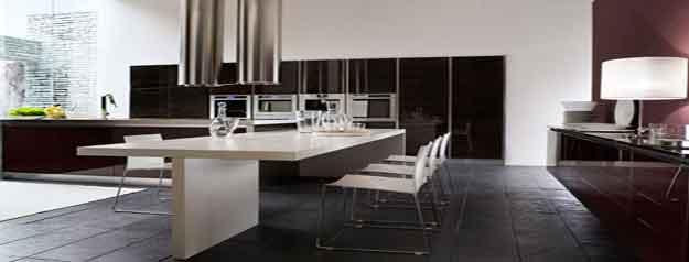 Top 30 Design Ideas : Black And White Kitchen