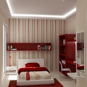 A Girly Room With A Feature Wall  Kids Room Inspiration  Wallpaper 7