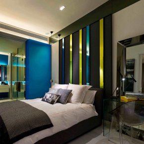 Amazing Masculine Bedroom Idea With Color Gyaro.net