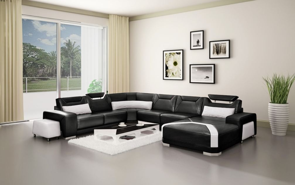Awesome Living Room Design Ideas Black Sofa With Living Room Ideas With Black Leather Sofa Home Interior Design Ideas Interior Design Center Inspiration