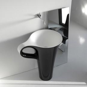 Black Coffee Cup Basin  Unique Bathrooms by ArtCeram  Pict  1