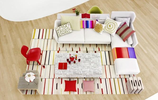 Beautiful Design Ideas of Modern Style Sofas