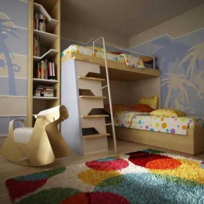 Bunk Beds 16 30 Fresh Space-Saving Bunk Beds Ideas For Your Home Photo 16