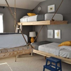Bunk Beds 2 30 Fresh Space-Saving Bunk Beds Ideas For Your Home Wallpaper 2
