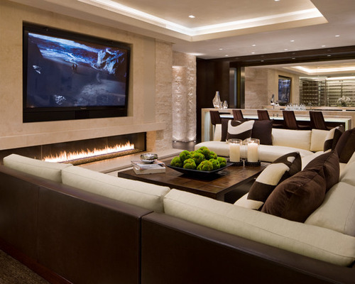 Contemporary Family Room Furniture