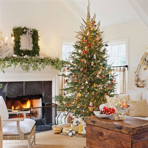 Christmas Living Room 1 33 Christmas Decorations Ideas Bringing The Christmas Spirit into Your Living Room Wallpaper 7