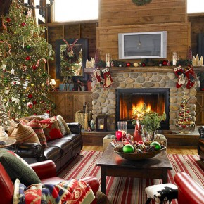 Christmas Living Room 15 33 Christmas Decorations Ideas Bringing The Christmas Spirit into Your Living Room Wallpaper 19