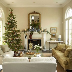Christmas Living Room 16 33 Christmas Decorations Ideas Bringing The Christmas Spirit into Your Living Room Wallpaper 20