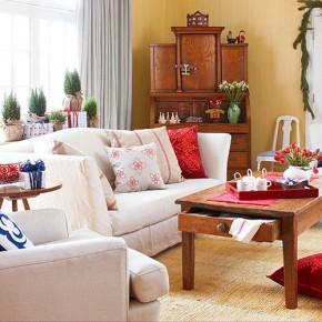 Christmas Living Room 22 33 Christmas Decorations Ideas Bringing The Christmas Spirit into Your Living Room Photo 26