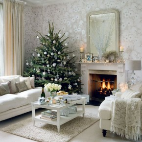 Christmas Living Room 32 33 Christmas Decorations Ideas Bringing The Christmas Spirit into Your Living Room Picture 33