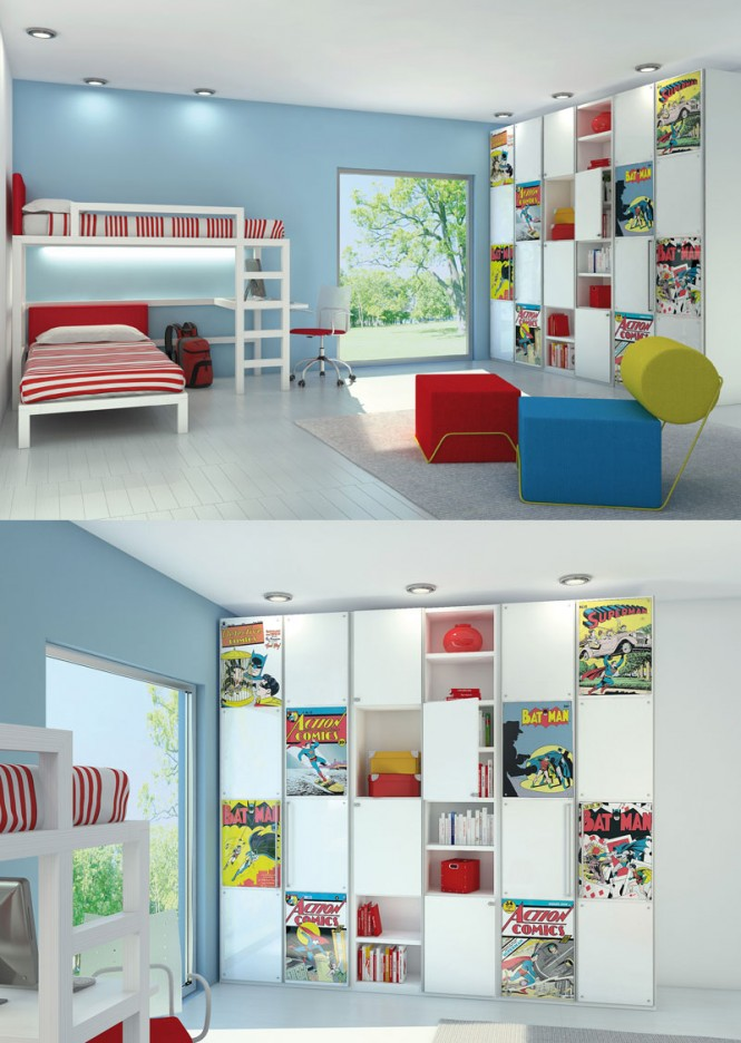 comic book room 665 936 poster print kids rooms pict 4 interior rh getitcut com