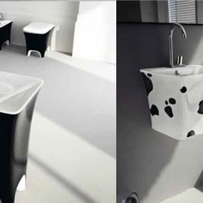 Cow Print Basin  Unique Bathrooms by ArtCeram  Wallpaper 9