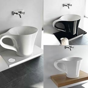 Cup Basin On Shelf  Unique Bathrooms by ArtCeram  Image  3