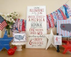 20 Patriot Mantel Ideas