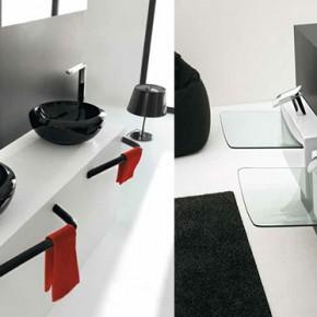 Glass Basin Black Sink  Unique Bathrooms by ArtCeram  Wallpaper 11