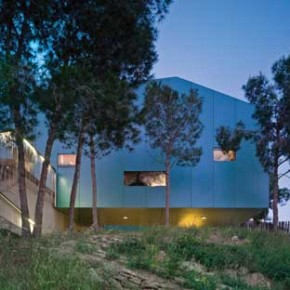 House Among Pines 3 Unique Architecture in Spain: House Among Pines Pict 3