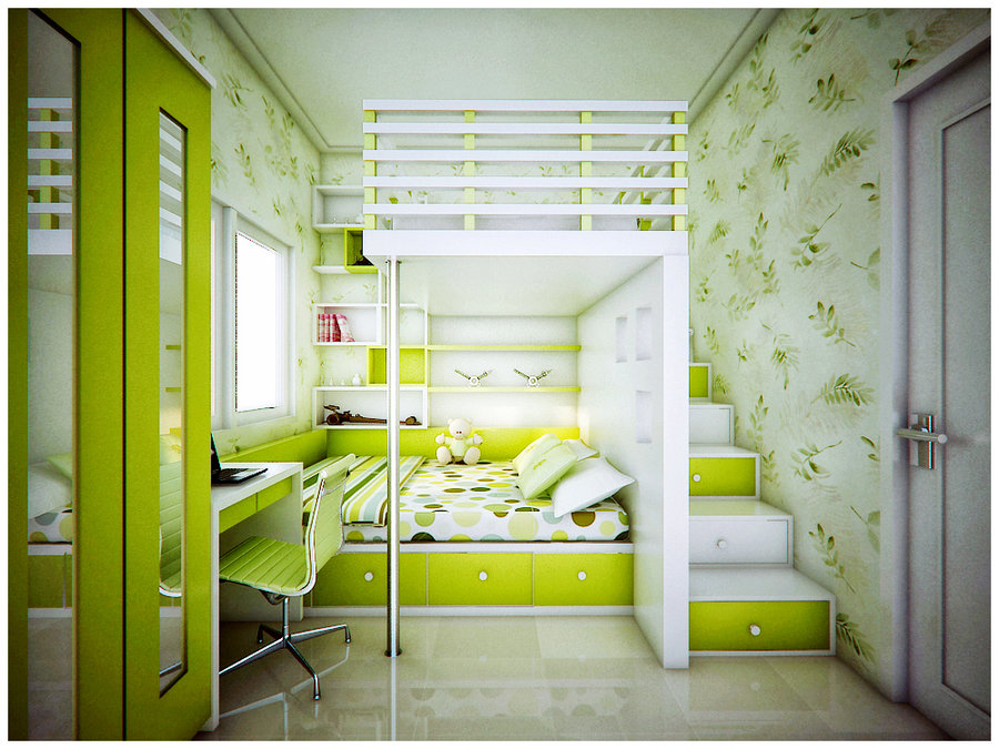 Lime Green Room Kids Room Inspiration Pict 2 | Interior Design ...