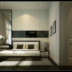 Master Bedroom With Ambiental Lighting1  Warm and Cozy Rooms Rendered By Yim Lee  Pict  4