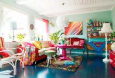 20 Funky Living Room Interior Design Ideas