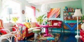 20 Funky Living Room Interior Design Ideas