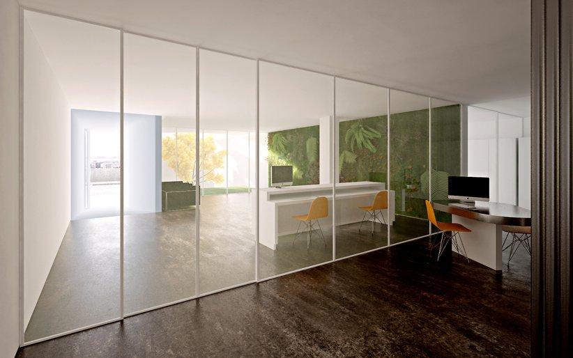 Simple Modern Offices of Stelmat Teleinformatica