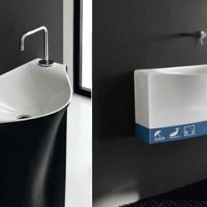 Organic Wave Basin  Unique Bathrooms by ArtCeram  Pict  13