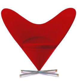 Panton Heartchair  Romantic Furniture  Image  11