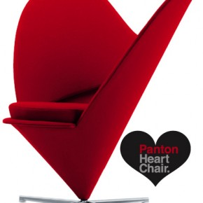 Panton Heartchair2  Romantic Furniture  Image  12
