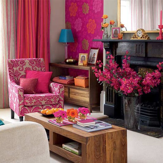 20 Colorful Living Room Ideas