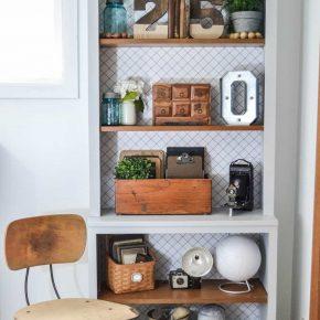 Cozy Bookshelf Design Idea Kwameanane.com