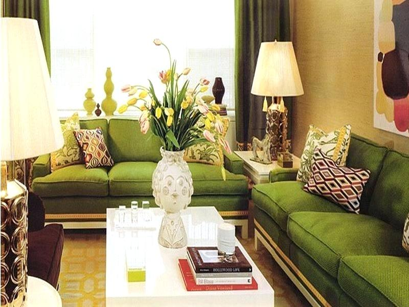 Sage green couch decorating ideas for Sage couch living room ideas