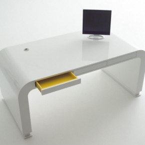 Signalement Open Drawer 582x452  11 Modern Minimalist Computer Desks Photo  10