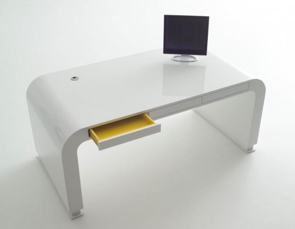 Signalement Open Drawer 582x452  11 Modern Minimalist Computer Desks Photo  10