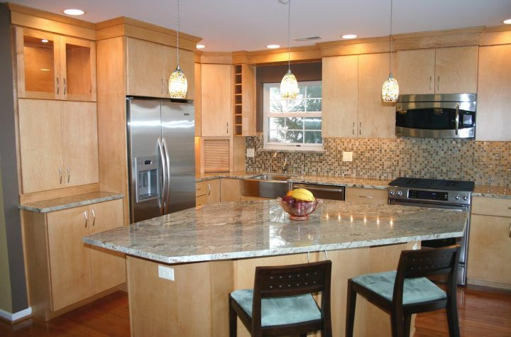 Simple Low Budget Kitchen Designs Small Kitchen Layout With Island