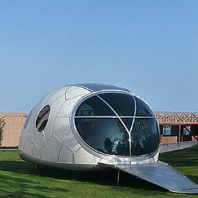 SNAG 0002  Futuristic Pod House Concept  Pict  9