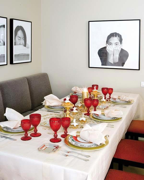 Christmas Dinner Table Decoration Ideas.Table Decorations Idea 18 Christmas Dinner Table Decoration