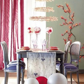 Table Decorations Red 18 Christmas Dinner Table Decoration Ideas Wallpaper 5