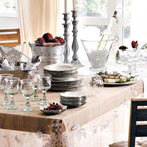 Table Decorations2 18 Christmas Dinner Table Decoration Ideas Picture 9