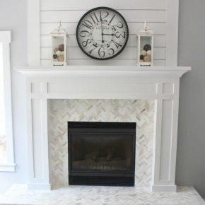 Mantel White Fireplace Babolpress