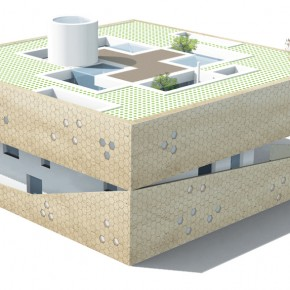 Work AC House 19  40 Revolutionary Housing Concepts from Ordos 100  Picture  21