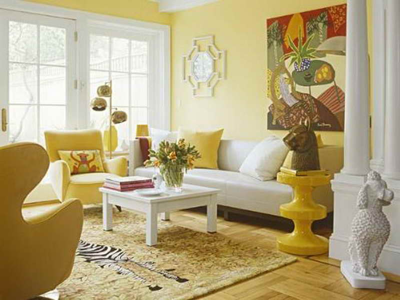 Yellow Wallpaper Design Design Inspiration Furniture Design For Your Home